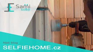 Sami Sobě - Vrtání otvorů na elektroinstalační krabice pomocí korunky
