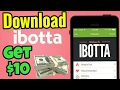 ibotta earn $10 - Make and Save Money with referral/reward code Tutorial