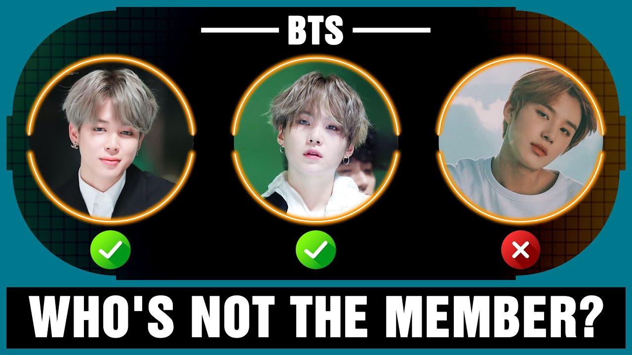 WHO'S NOT THE MEMBER? -「KPOP GAME」
