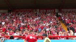 Hull KR fans sing-a-long to