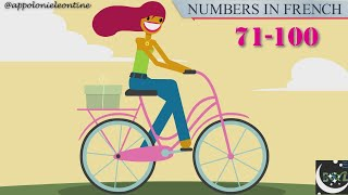 LEARN FRENCH FROM SCRATCH. LESSON3(part3)Les nombres cardinaux/frenchnumbers(71-100)