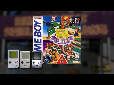 Gameplay : Game & Watch Gallery [Gameboy]