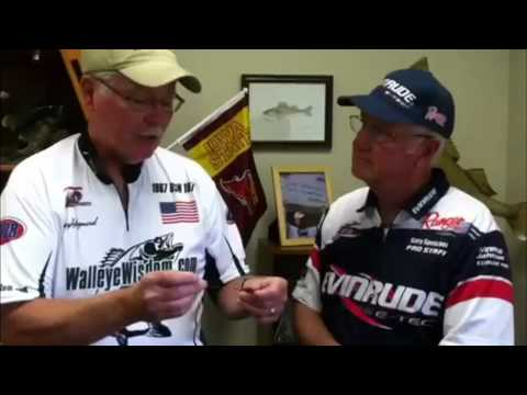 Gary And Tracy Talk How To Troll Snap Weights For Walleyes