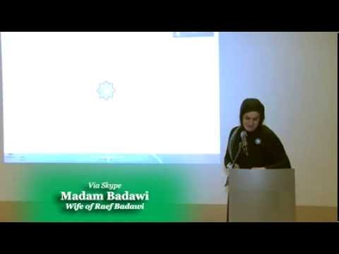 Interview with Raif Badawi's wife on Freedom of Expression
