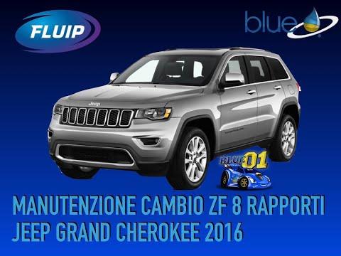 Manutenzione cambio ZF 8 rapporti Jeep Grand Cherokee 2016 con Additivi Blue e Fluip Motor Oil