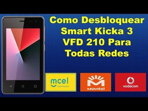 Como Desbloquear Rede no Vodafone Smart Kicka 3 VFD 210 Para Outras Operadoras 100% Fácil e Seguro