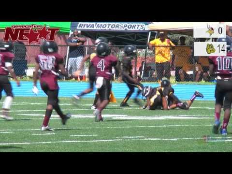 Miami Gardens Vikings Vs Miami Gardens Bulldogs Youtube
