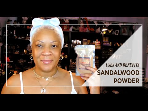 Sandalwood Powder - Uses and Benefits - Look Radiant - Dminish Signs of  Aging