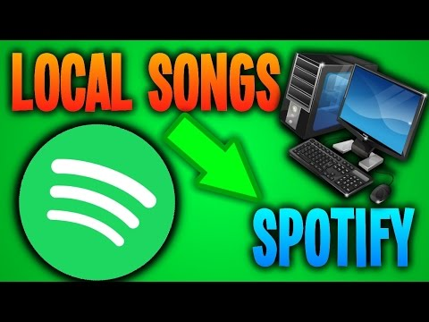 How To Add Local Songs From Computer To Spotify!