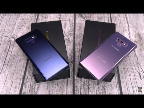 Samsung Galaxy Note 9 Real Review