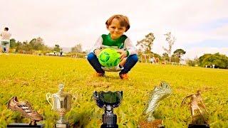 5 year soccer player santiago alvarez crack todos los goles con surigol