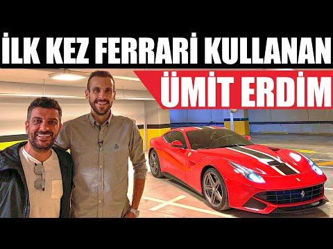 Ümit Erdim İlk Kez Ferrari Kullanıyor | Ferrari F12 Berlinetta
