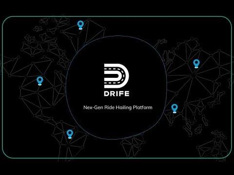 Drife 👥 nexgen decentralized ride hailing platform using Blockchain