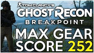 Why You're Getting STUCK! How to Get 252, Max Gear Score! - Ghost Recon Breakpoint TIps