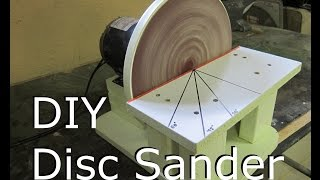 Disc Sander - Make DIY Build