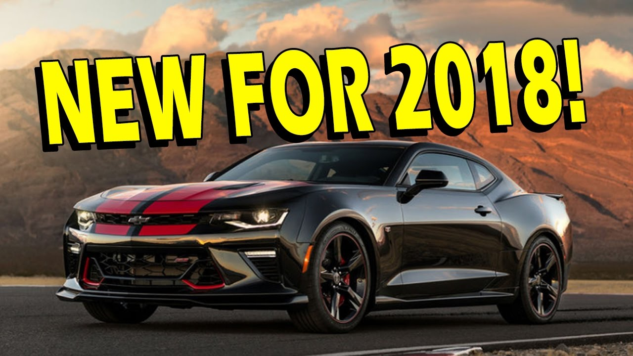 2017 2018 Camaro What Is The Difference 2ss 1le Zl1 1le