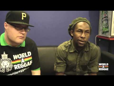 Jah Cure interview with WorldAReggae com 2011