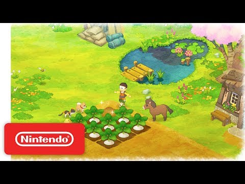 Doraemon Story of Seasons - Announcement Trailer - Nintendo Switch