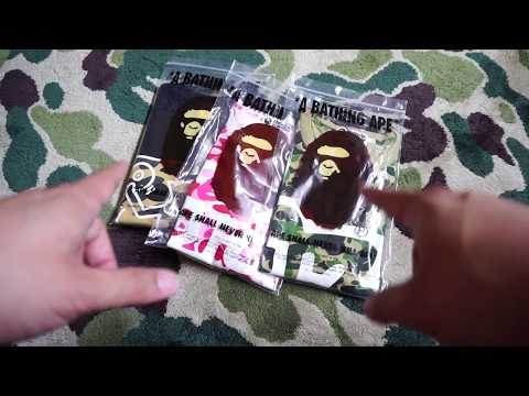 2018 BAPE x Keith Haring ABC 1st Camo Hypebeast Streetwear Unboxing and Review! Japan Shopping!