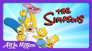 How The Simpsons Expanded The English Language (Origins of D'oh and Meh) - Art in Motion