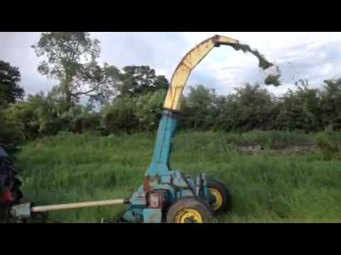Kidd double chop forage harvester