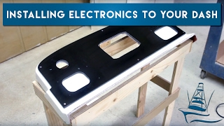 Installing Electronics in Acrylic Dash Panels