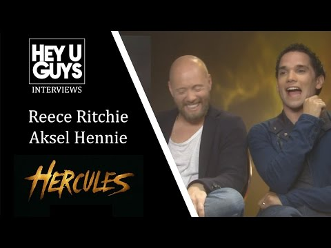 Reece Ritchie and Aksel Hennie   Hercules