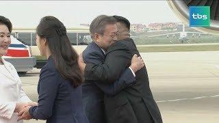 '남북 정상의 만남' 프레스센터 현장 [tbs현장렉]