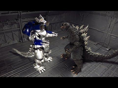 SH Monsterarts Godzilla 2002 Figure Review