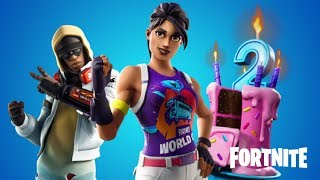 BAILA IN FRONT OF DIFFERENT FUN CAKES - FREE GIFTS IN FORTNITE! *NEW CHALLENGES*