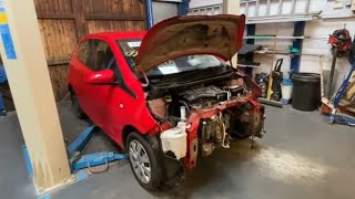 Crash Damaged Peugeot 108 Complete What Did We Earn £££