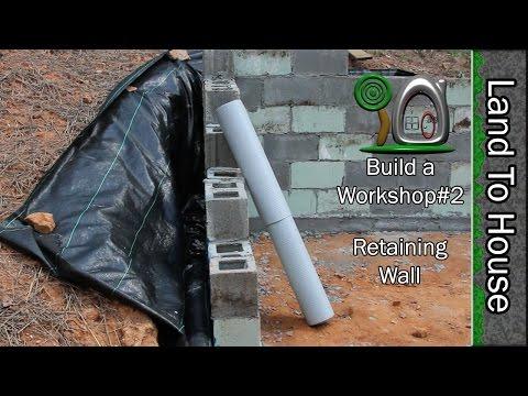 Build a Block Retaining Wall - Build a Workshop#2