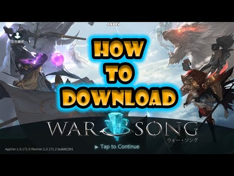 How to download War Song MOBA 2k18