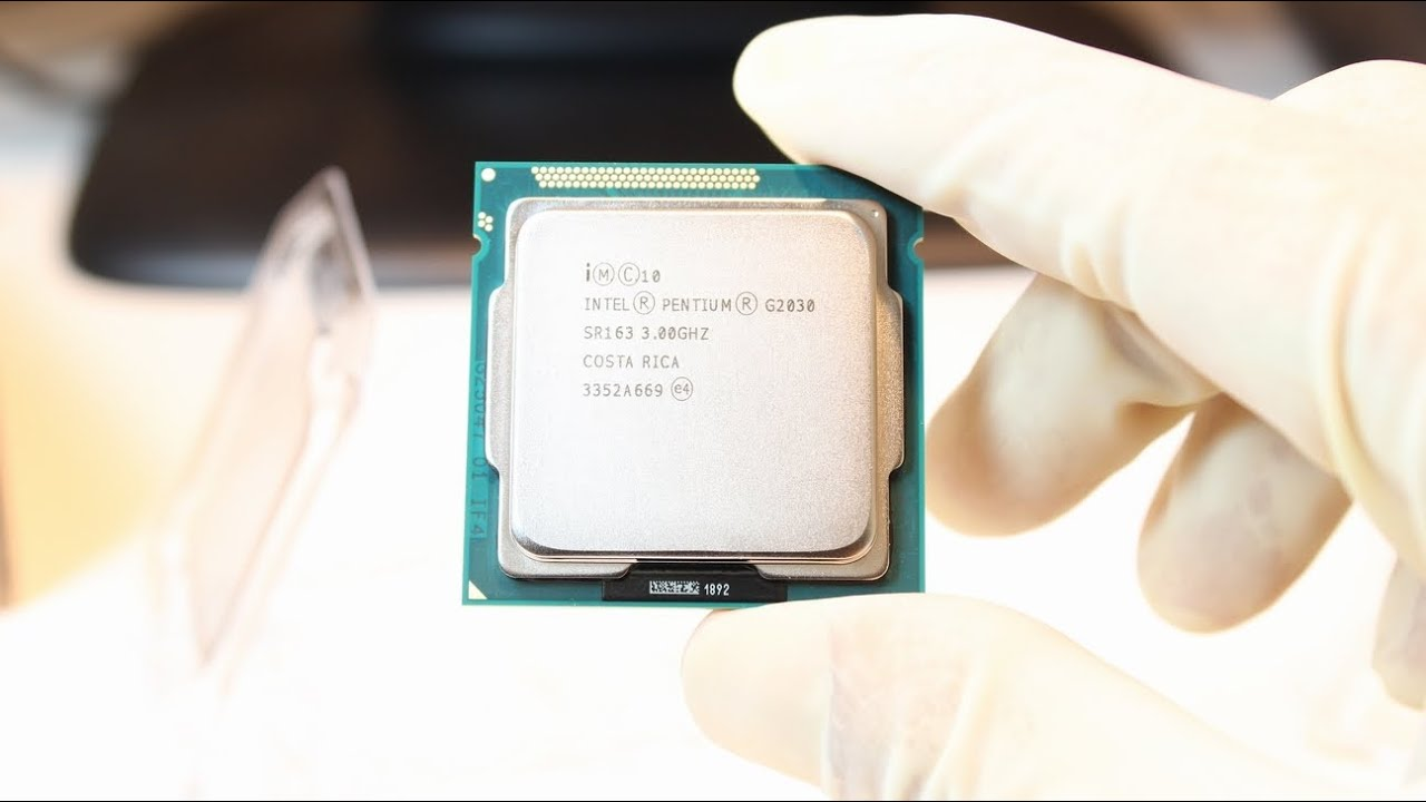 Intel Pentium G2030 processor unbox and review - YouTube