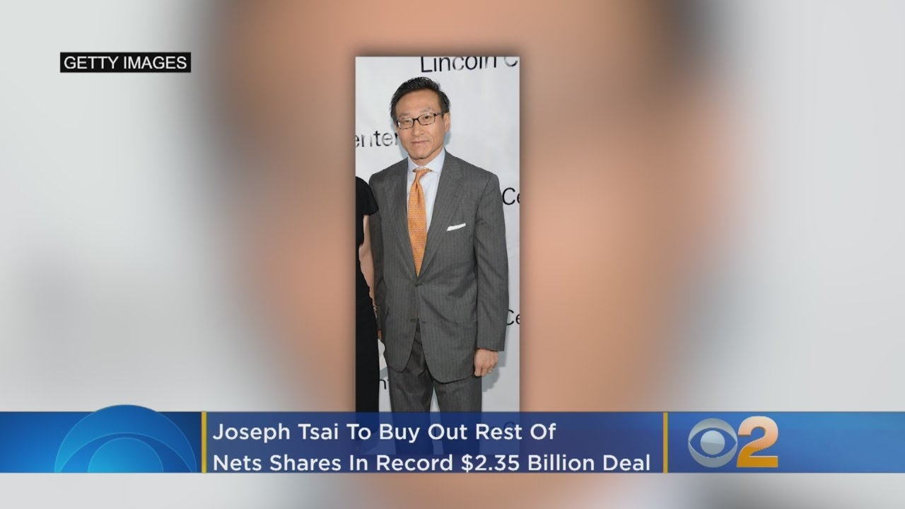 Alibaba's Joseph Tsai to Buy Rest of Brooklyn Nets