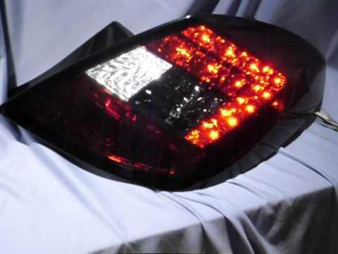 led r ckleuchten opel corsa d 5t rer red smoke by sw youtube. Black Bedroom Furniture Sets. Home Design Ideas