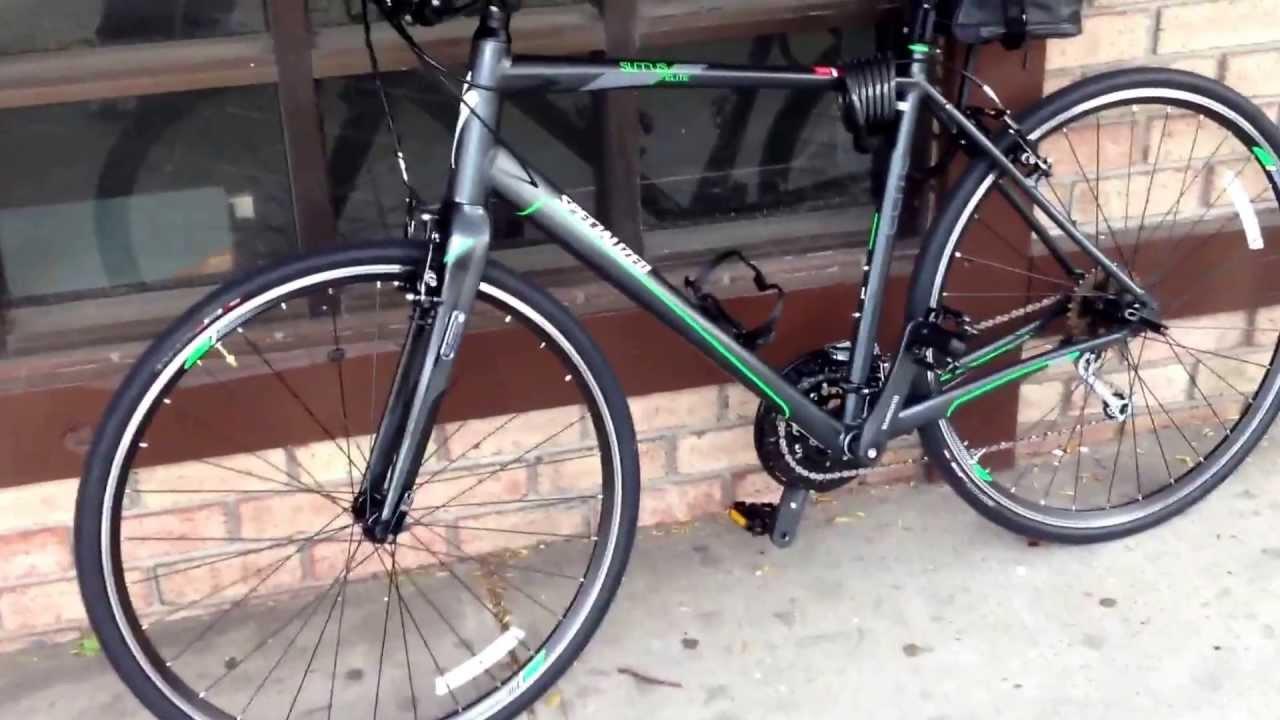 Specialized Sirrus Elite 2013 Hybrid Roadbike Youtube
