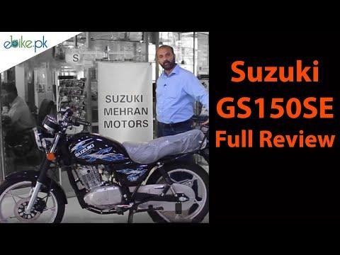 Suzuki GS150SE Full Review - YouTube