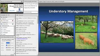 Pest and Disease Management for Organic Apple Production