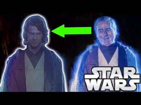 Why Anakin's Force Ghost is Young - Star Wars Explained