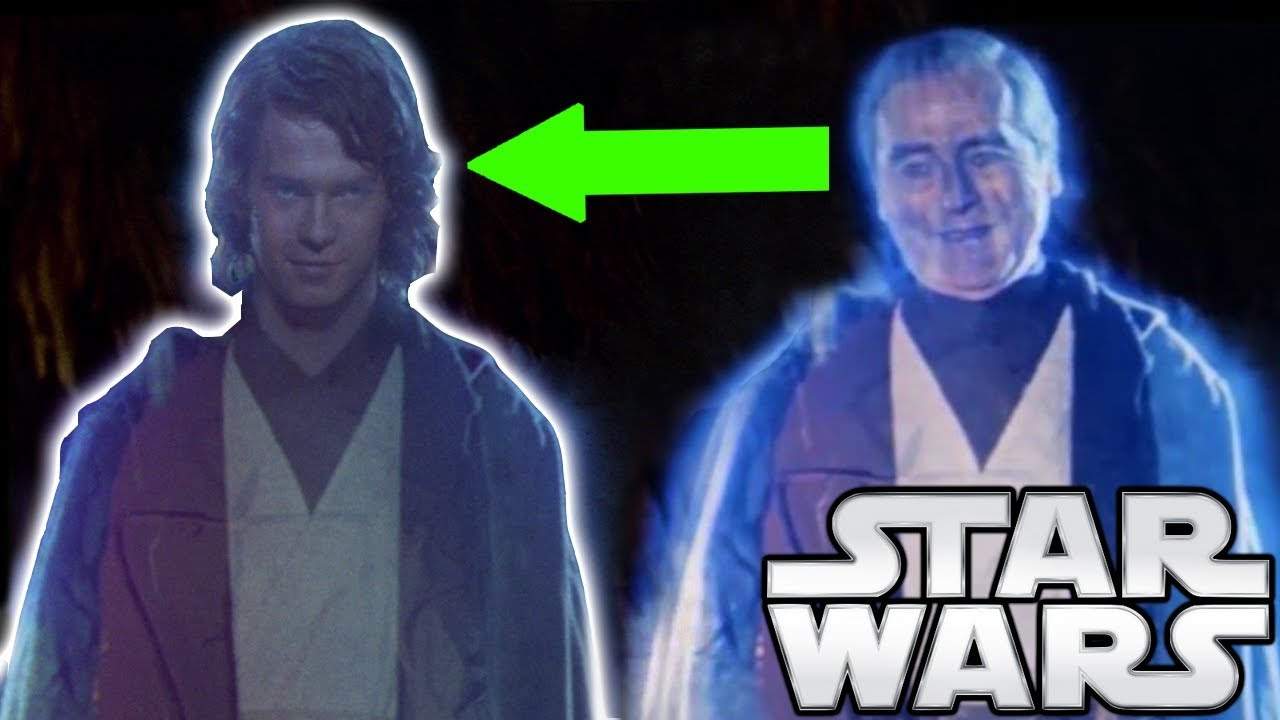 Why anakin 39 s force ghost is young star wars explained - Lego star wars anakin ghost ...
