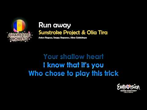 "Sunstroke Project & Olia Tira - ""Run Away"" (Moldova) - [Karaoke version]"