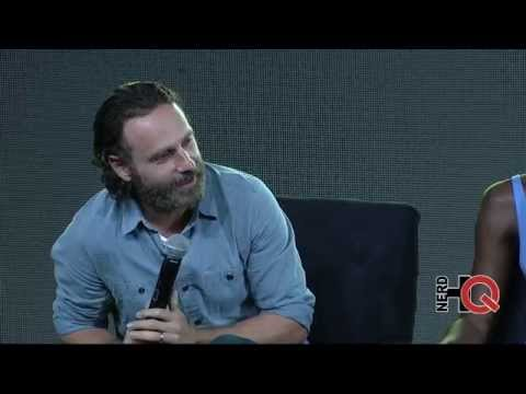 A Conversation with the cast of The Walking Dead live at #Ne