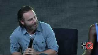 A Conversation with the cast of The Walking Dead live at #NerdHQ 2014