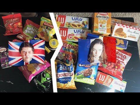 BRITISH VS FRENCH FOOD  – BPOY