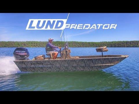 New 2018 Lund Boats Predator Walkthrough