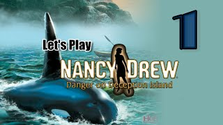 Nancy Drew 9: Danger on Deception Island [01] w/YourGibs - FOOD POISONING START - OPENING - Part 1