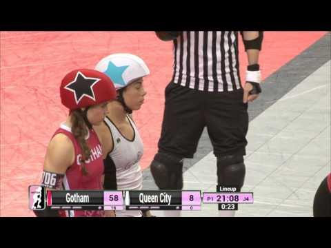 Game 5: Gotham Girls Roller Derby v Queen City Roller Girls