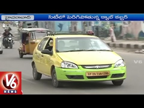 People Prefer To Take Cabs Due To Hike Of Auto Charges In Hyderabad | V6 News