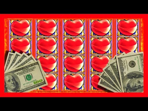 I ❤ Big Wins! Happy Valentine's Day From SDGuy! Slot Machine Bonusing! - 동영상